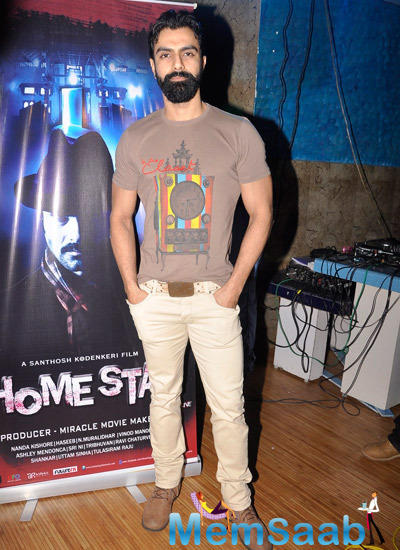 Ashmit Patel Dashing Look During The Music Launch Of Home Stay