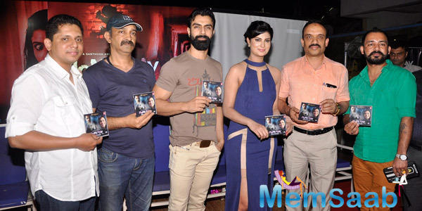 Ashmit Patel,Sayali Bhagat And Ravi Kale Launched Home Stay Film Music