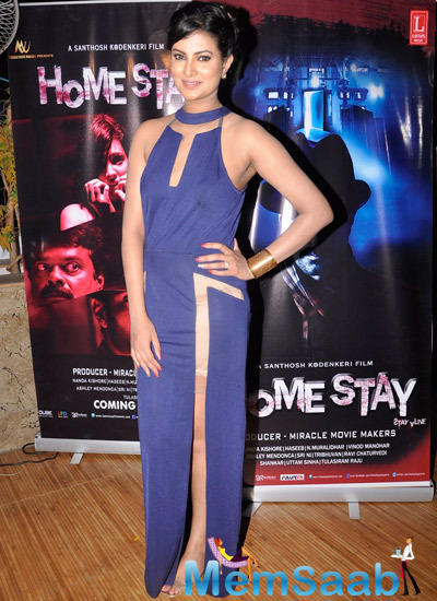 Sayali Bhagat Glamour Look At Homestay Film Music Launch Event