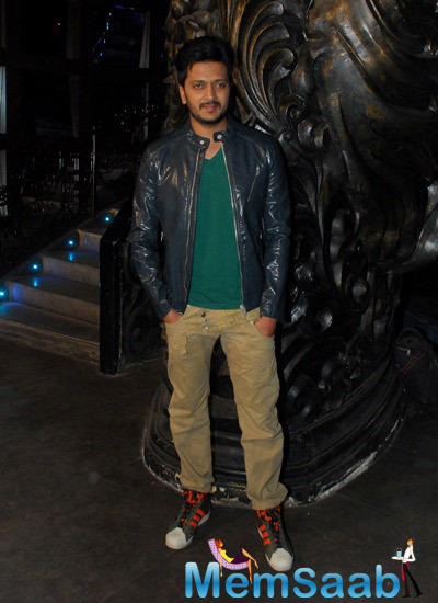 Riteish Deshmukh Dashing Look At The Launch Of Sajid Nadiadwala Film Murder Mystery
