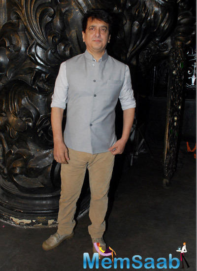 Sajid Nadiadwala Stunning Look At The Launch Of Sajid Nadiadwala Film Murder Mystery