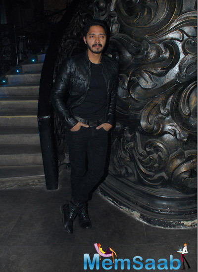 Shreyas Talpade Posed During The Launch Of Sajid Nadiadwala Film Murder Mystery
