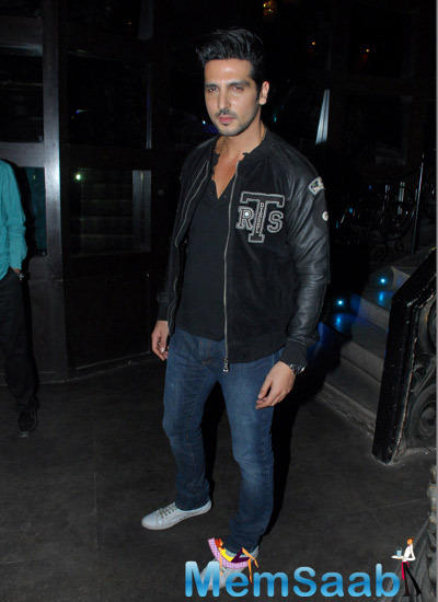 Zayed Khan Dashing Look During Sajid Nadiadwala Film Murder Mystery Launch Event