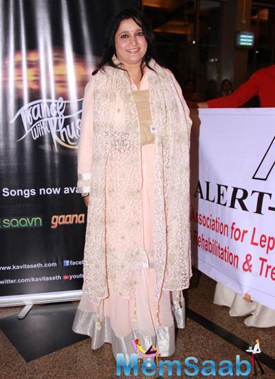Kavita Seth Hosts A Fund Raiser Concert For Alert India