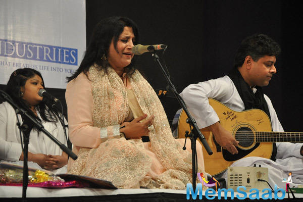 Kavita Seth Performs During Fund Raiser Concert For Alert India Event
