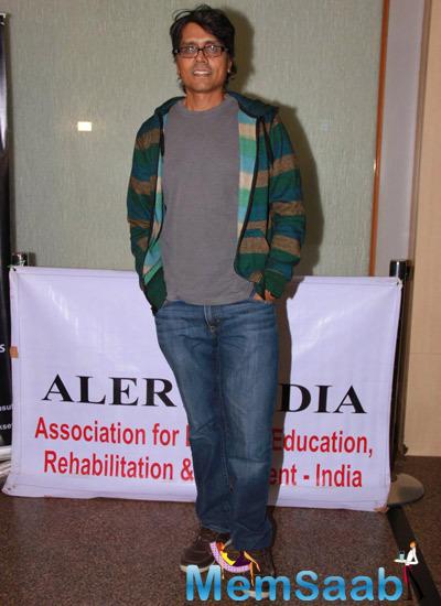 Nagesh Kukunoor Posed During Kavita Seth Fund Raiser Concert For Alert India