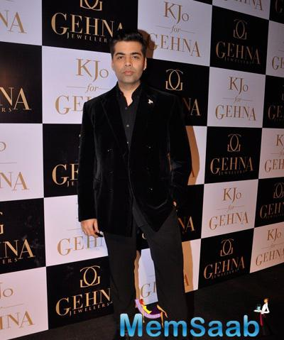 Karan Johar Turned Jewellery Designer For Jewellery Label Gehna Collection