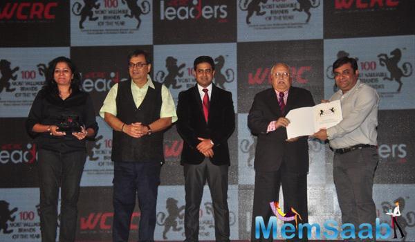 Filmmaker Subhash Ghai During Pride Of India Awards In Mumbai