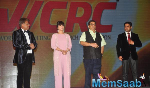 Subhash Ghai And Neeta Lulla Attend Pride Of India Awards In PALLADIUM Hotel