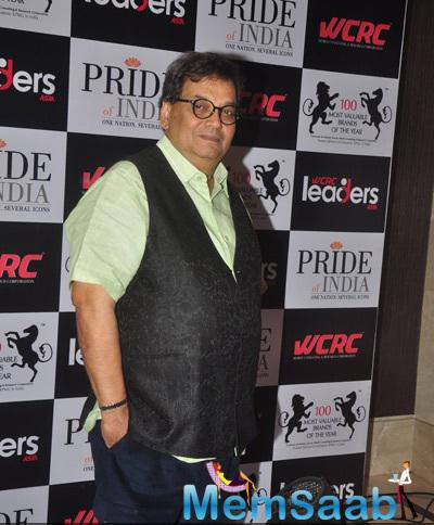Subhash Ghai Spotted To Attend Pride of India Awards 2014
