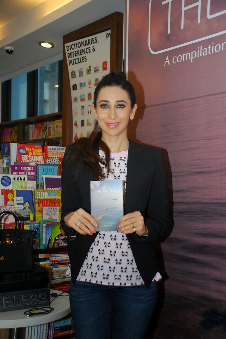 Karisma Kapoor Unveiled Close Friend Tamanna C Debut Book The Way Ahead