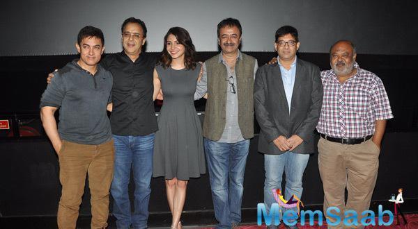 PK Special Screening Held For Mumbai Police