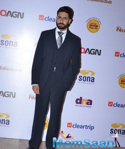 Abhishek Bachchan Graced At Magic Bus Charity Dinner 2014