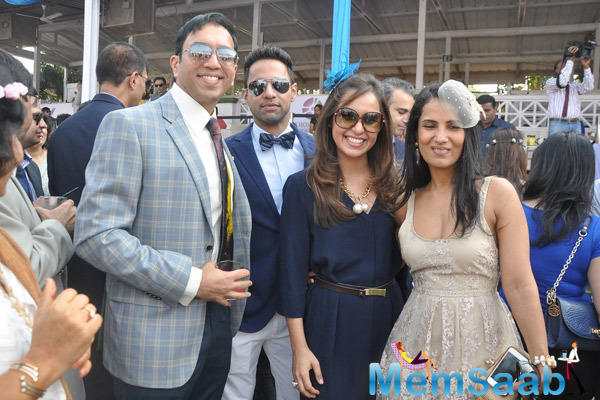 Many Celebs At ABV Neucleus Indian 2000 Guineas And Constellation Salver