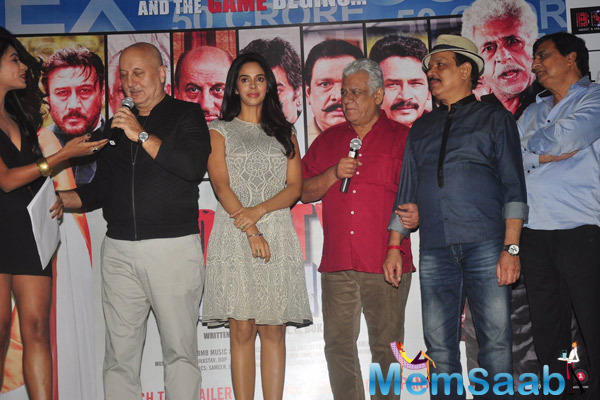 Cast And Crew Attend The Promotional Event Of Dirty Politics