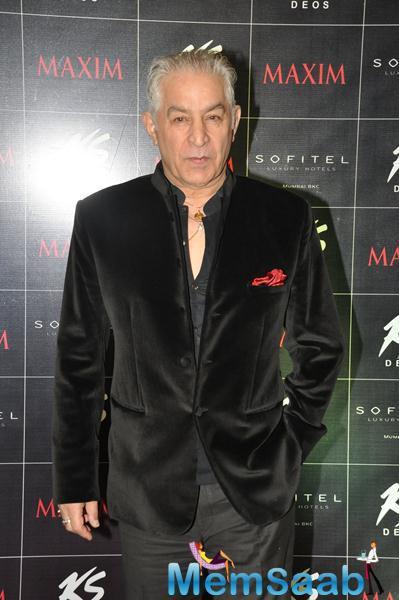 Dalip Tahil Nice Cool Look During KS Maxim Girl Contest 2014