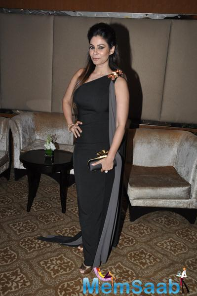 Shaheen Abbas Strikes A Pose During KS Maxim Girl Contest 2014