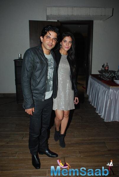 Raj Singh Arora And Pooja Gaur Attend Karanveer Bohra House Warming Party