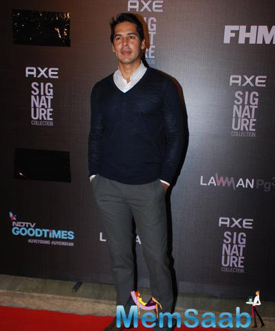 Dino Morea Casual Look At Axe Signature And FHM Bachelor Of The Year 2014 Awards