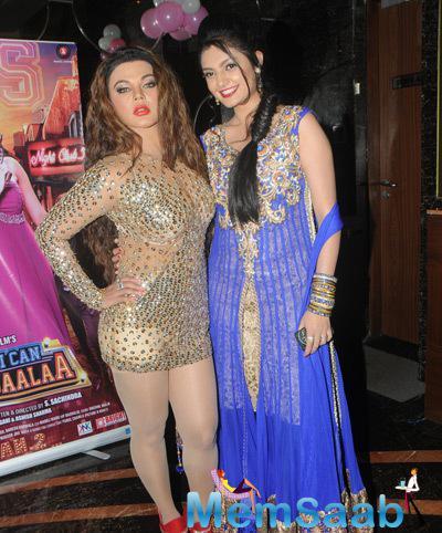 Rakhi Sawant Posed With Ashima Sharma At The Trailer Launch Of Mumbai Can Dance Saala