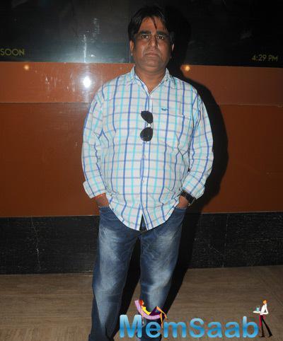 Sachindra Sharma Posed During The Trailer Launch Of Mumbai Can Dance Saala