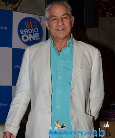 Dalip Tahil Smiling Look During The Initiative Launch Of 94.3 Radio One Mumbai