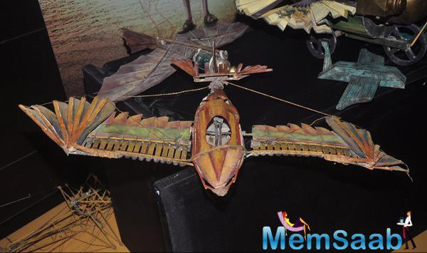 Aircraft Of Ayushmann Khurrana In The Film Hawaizaada