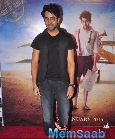 Ayushmann Khurrana Launched The First Look Of His Upcoming Movie Hawaizaada