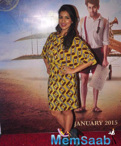 Pallavi Sharda Stunning Look During The Trailer Launch Of Film Hawaizaada