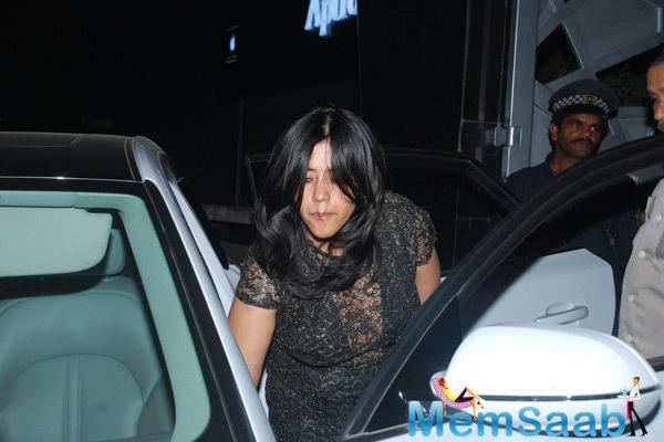 Ekta Kapoor Arrived For Jackie Bhagnani's Birthday Bash