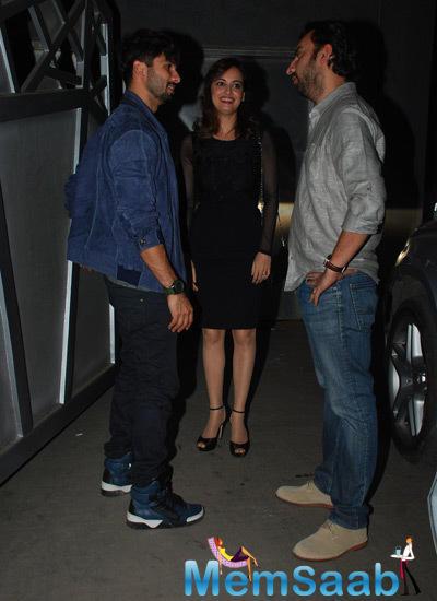 Shahid,Dia And Sahil Sangha Gossip During Jackky Bhagnani Birthday Bash