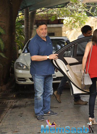 Rishi Kapoor Attended Uncle Shashi Kapoor Christmas Party