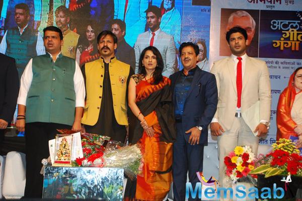 Devendra,Vivek,Rajeshwari,Udit And Siddharth Clicked At Birthday Bash Of Atal Bihari Vajpayee