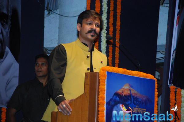 Vivek Oberoi Spoke Some Words At Birthday Bash Of Atal Bihari Vajpayee