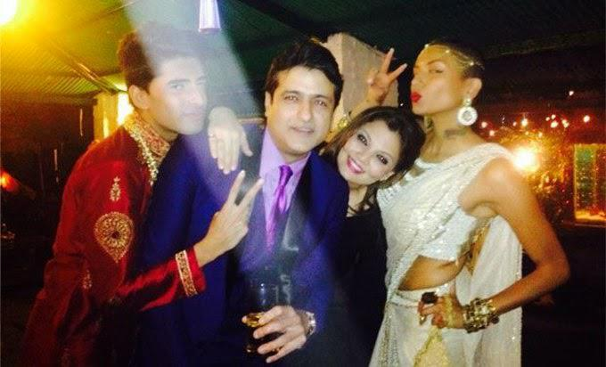 Armaan Kohli Too Attended The Dabangg Khan's Birthday Bash