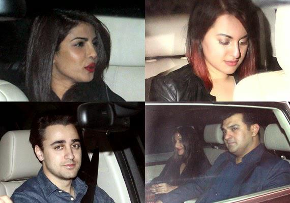 B Town Celebs Snapped At Salman Khan 49th Birthday Bash