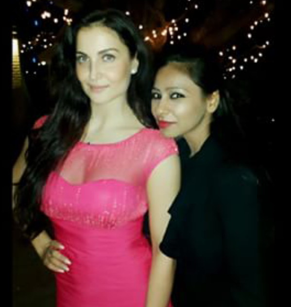 Elli Avram Grace The Birthday Party Of Salman Khan