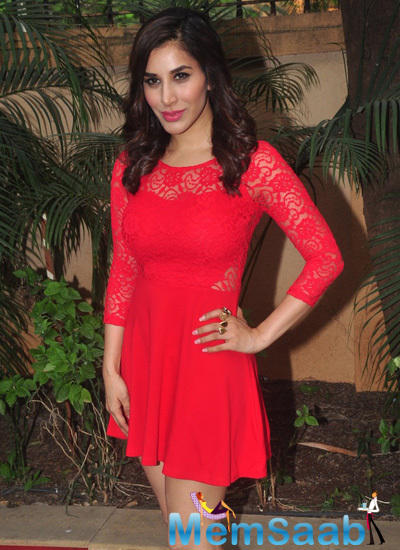Sophie Choudry Holds Press Meet For Her Pune CCIL Performance On New Year's Eve 2015