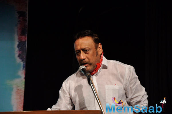 Jackie Shroff Spoke Some Words At The Book Launch Of Ali Peter John Witnessing Wonders