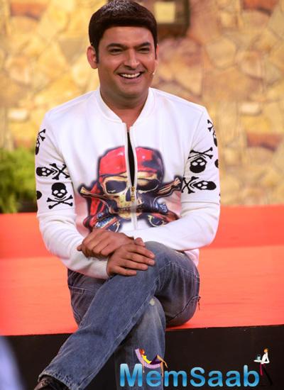 Kapil Sharma Seems To Be Enjoying Himself On The Show