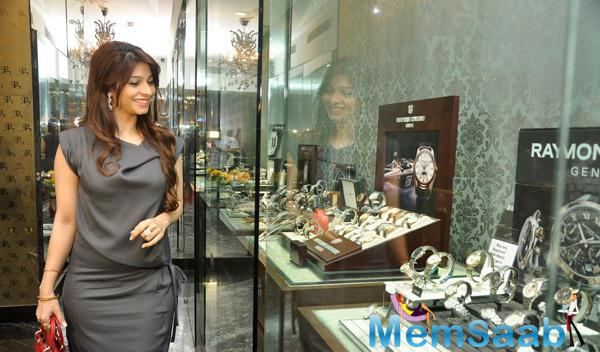 Tanishaa Mukerji Attended Popley Group In Association With Omega At The Grand Hyatt