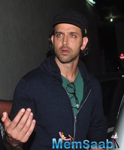Hrithik Roshan Stunning Look During He Spotted At PVR Juhu