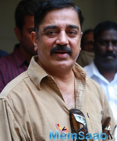 Kamal Haasan Clicked At Director KB Sir Residence
