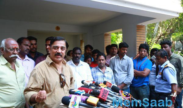 Kamal Haasan Spoke Few Words About Director, Producer, Writer K.Balachander