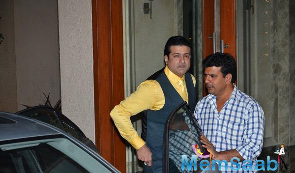 Arman Kohli Arrived At Sunjay Dutts New Year Party