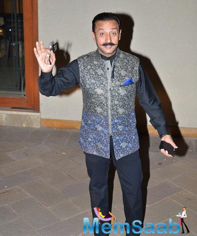 Gulshan Grover Spotted At Sanjay Dutt's New Year Bash