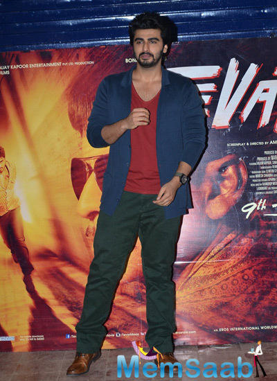 Arjun Kapoor Dashing Cool Look During The Promotion Of Tevar At IIT College Fest In Powai