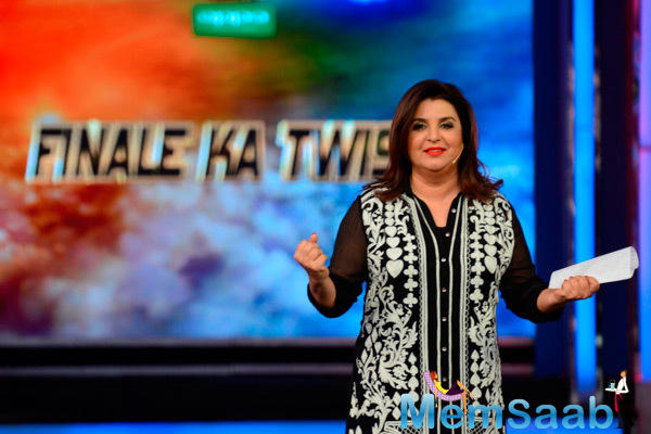 Farah Khan Hosted Bigg Boss 8 Finale Ka Twist