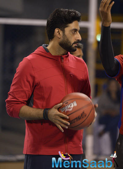 Abhishek Bachchan Participated With The Students In Foot Ball Match