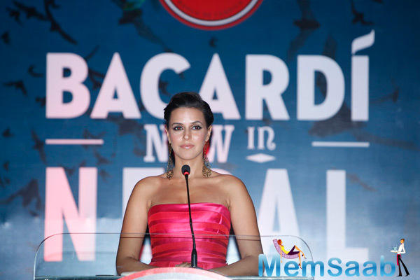 Neha Dhupia Host An Event For Bacardi In Nepal
